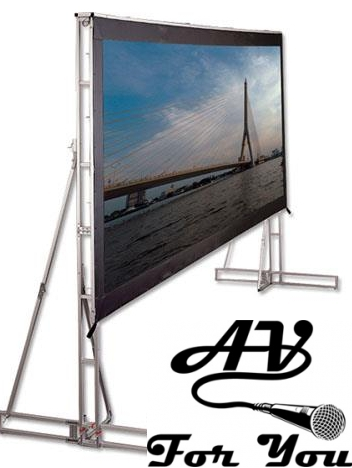 Picture of AV for You Screen Works 20' x 11' Screen with Drape
