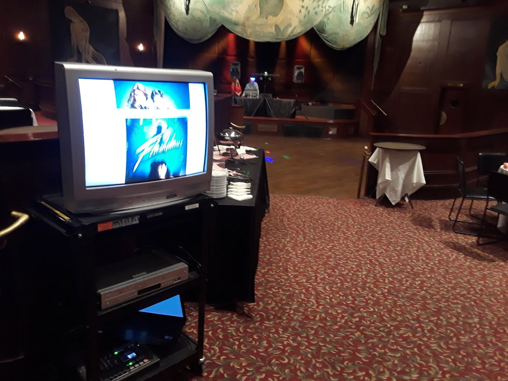 Picture of AV for You rental equipment at the Metropolitan Ballroom in Wayzata