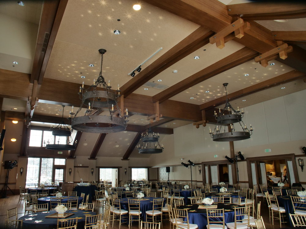 Picture of AV for You gobo rental at the Interlachen Country Club in Minneapolis
