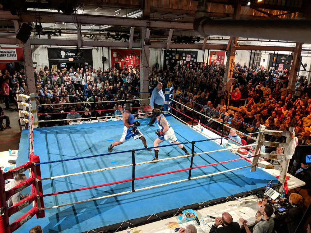 Picture of Unite and Fight Charity Boxing Event at UpperCut Boxing Gym in Minneapolis
