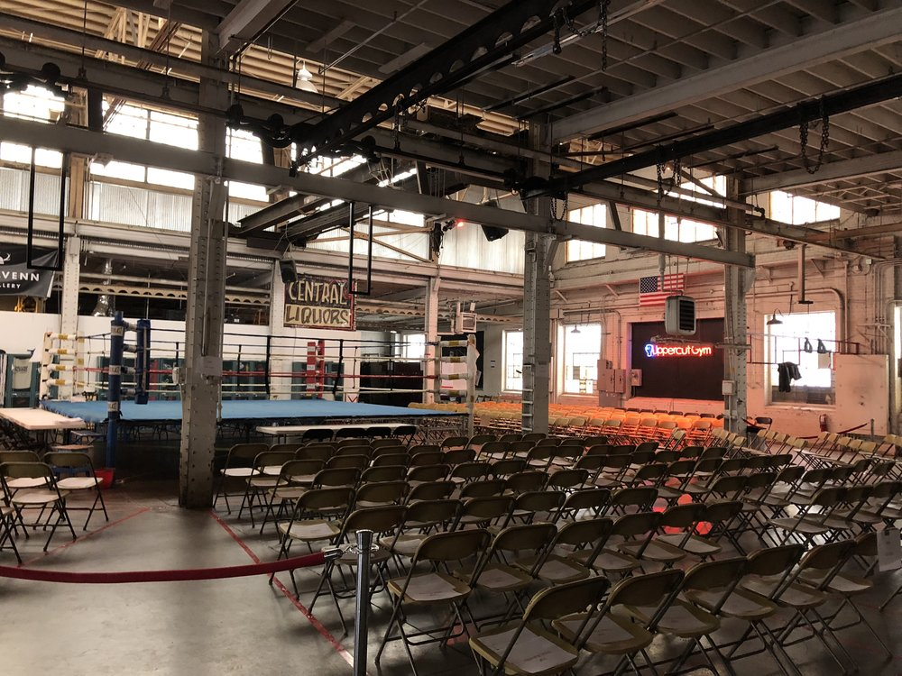 Picture of AV for You Rental Equipment at Uppercut Boxing Gym in Minneapolis