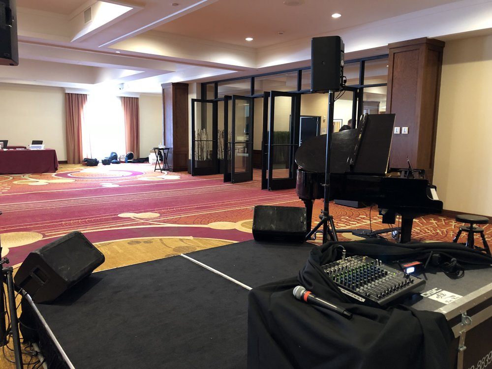 Picture of AV for You Sound Rental Equipment in Pre Function area at the Minneapolis Marriott Northwest