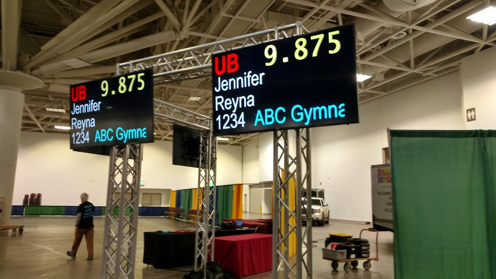 Picture of AV for You TV rental equipment at the Minneapolis Convention Center