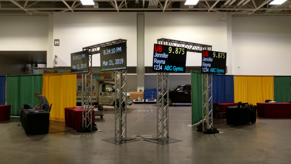 Picture of AV for You Monitor rental equipment at the Minneapolis Convention Center