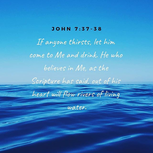 He is the well that never runs dry. Look to Him and be replenished.