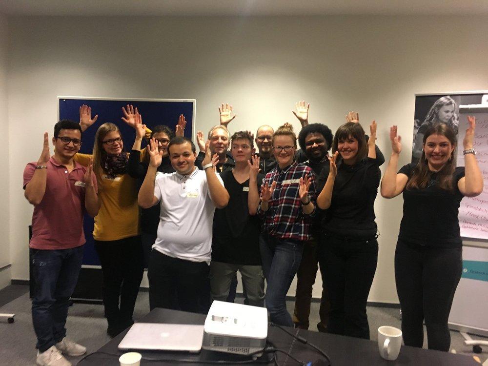 Während unseres letzten Workshops im Startplatz Köln