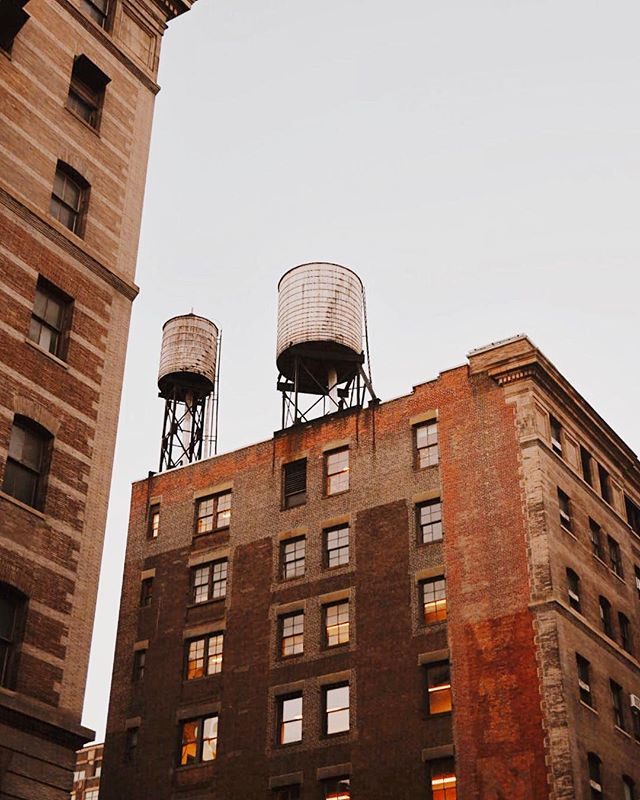 New York rooftop stories! #nyc2017 #nycwatertowers #newyorkcity #architecturephotography