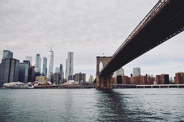 Had to visit the Brooklyn Bridge of course #nyc #visitingnyc #brooklynbridge #newyorker #nycview #nyc2017