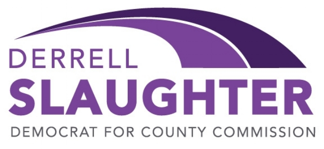 Derrell Slaughter Democrat for County Commission