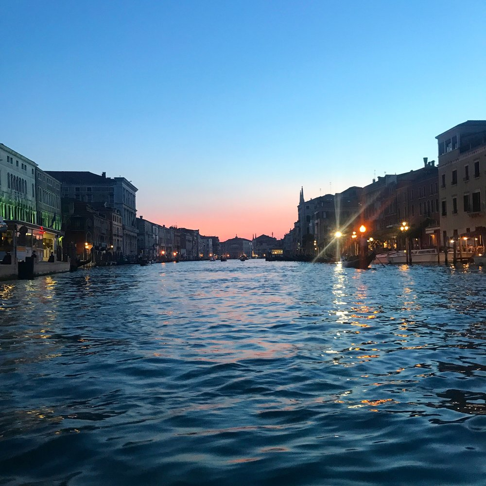 MauraKeeley.com Venice Italy Grand Canal