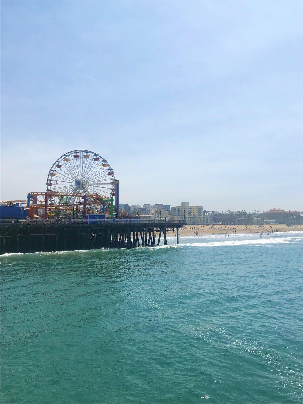 MauraKeeley.com Santa Monica Pier