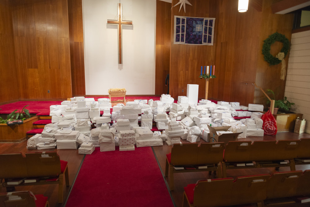 2018 White Gifts (Photo courtesy of Craig Stapert)