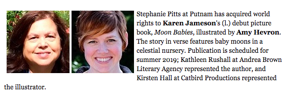 MOON BABIES by Karen Jameson