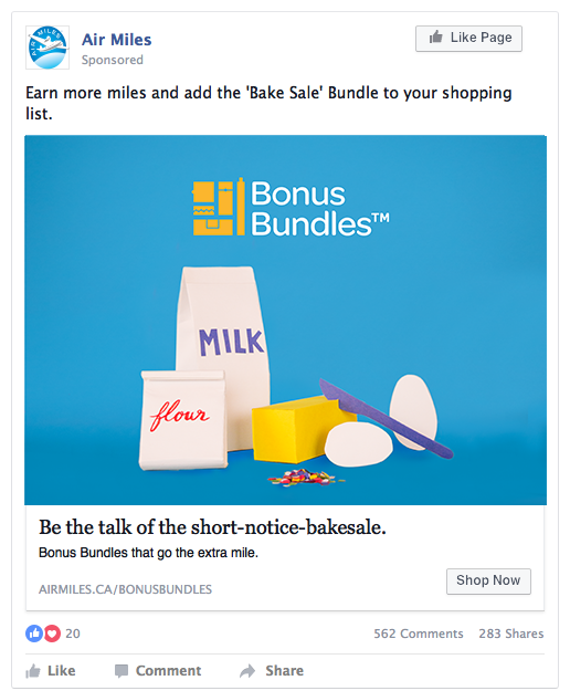 Social: Facebook Sponsored Posts