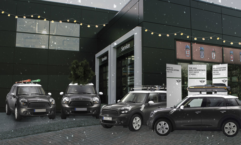 Experiential: Test Drive Booth