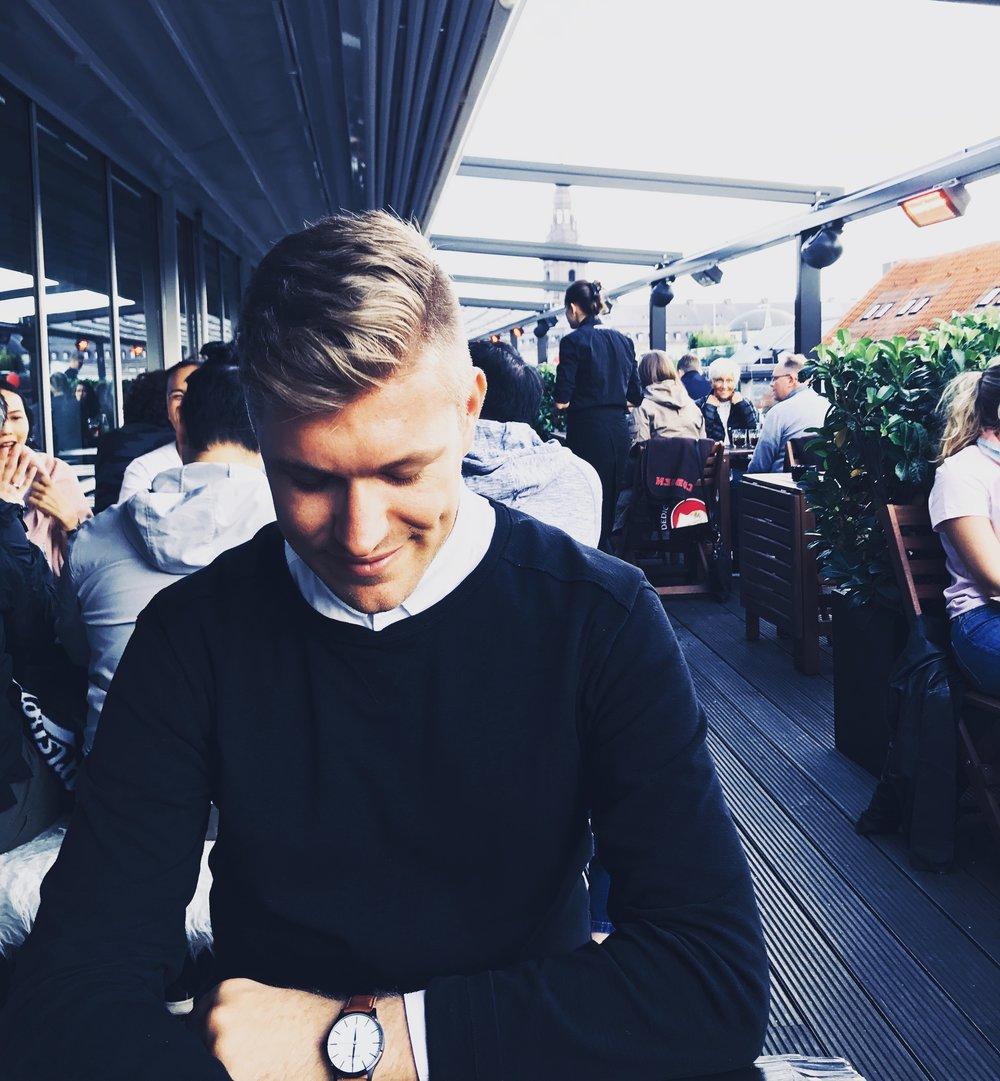 Richie Hofmann in Copenhagen