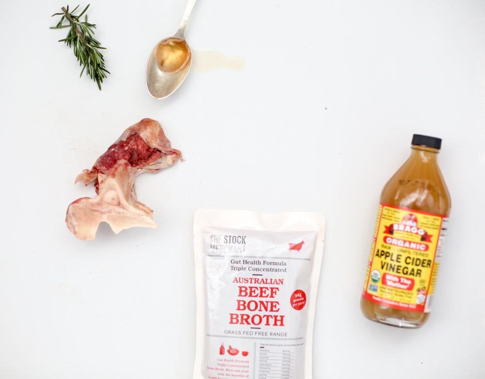 Real Ingredients - As with our other bone broths, there are no filler vegetables used. Just water, grass-fed beef bones or free-range chicken bones and apple cider vinegar.