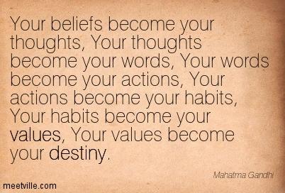 Ghandi - Habits