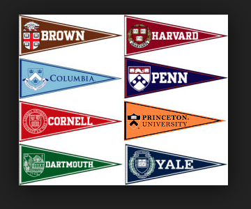 Ivy League Pennants