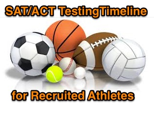 Testing Timeline for Recruited Athletes