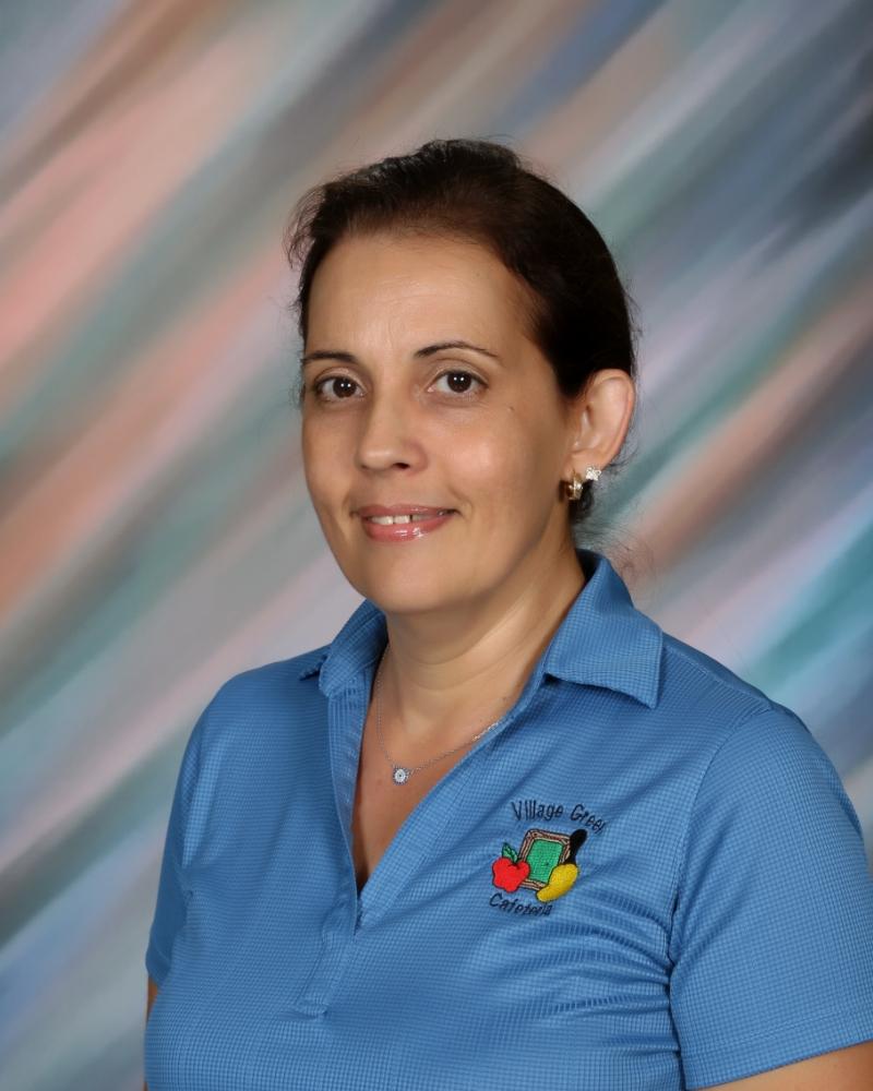 Lourdes Magrinat - Cafeteria Staff