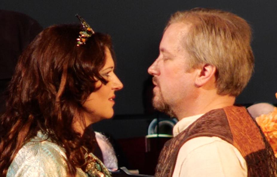 The wonders of photo editing turn Turandot and Calaf into…