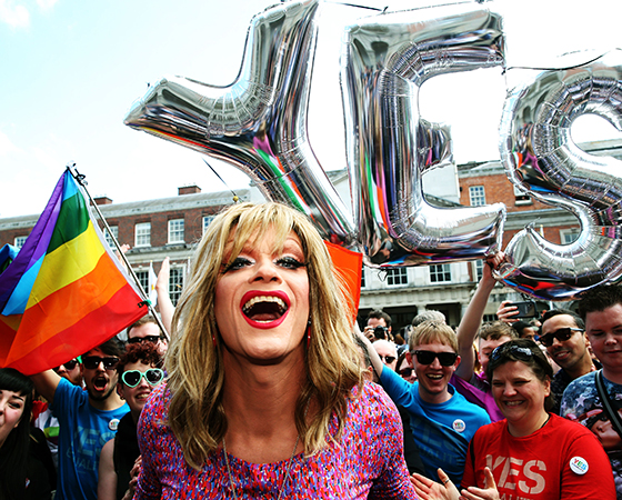 Panti Bliss says she was emotional over Australia's decision to legalise same sex marriage.