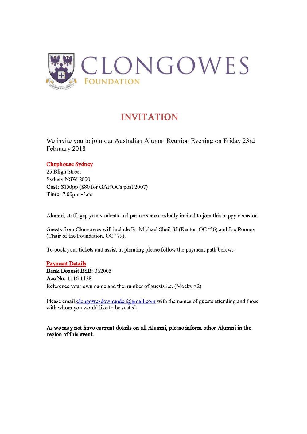 Clongowes Australian Alumni Reunion Evening 2018 Invite.jpg