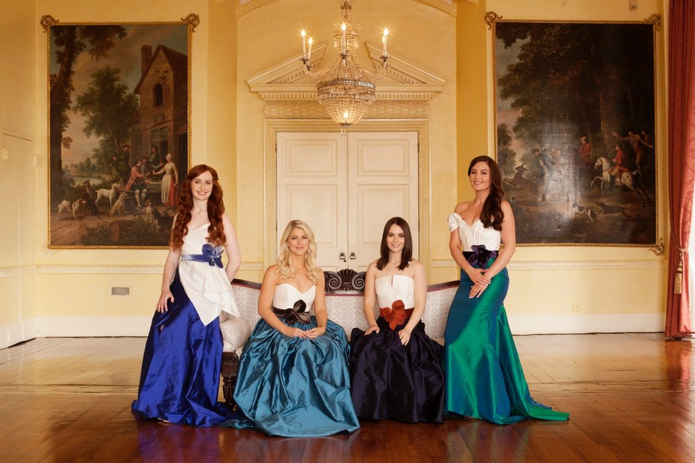 Tara McNeill, Susan McFadden, Mairéad Carlin and Éabha McMahon are Celtic Woman