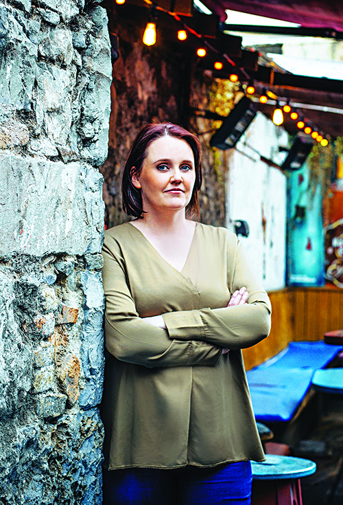 Writer Dervla McTiernan moved to Perth in 2008. Picture: Julia Dunin