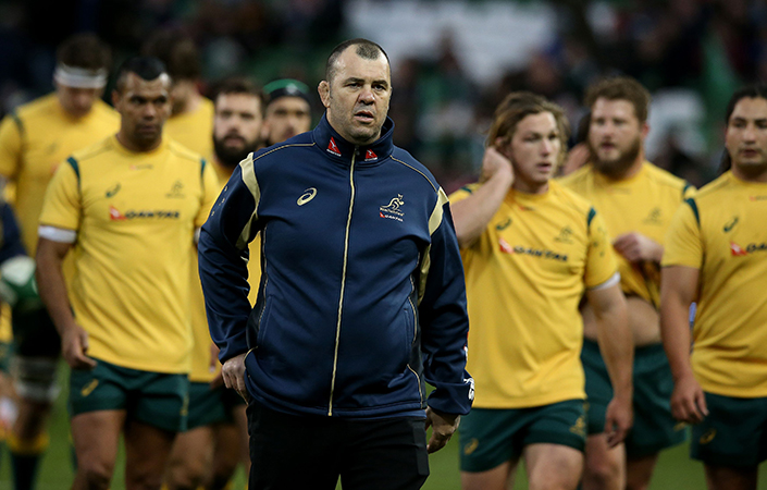 Michael Cheika knows the Irish game well after coaching Leinster to European success in 2009.