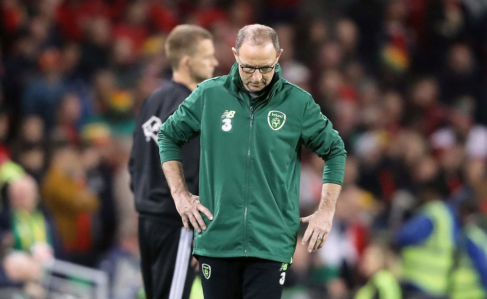 Martin O'Neill's five-year term as manager of the Republic Of Ireland has ended.