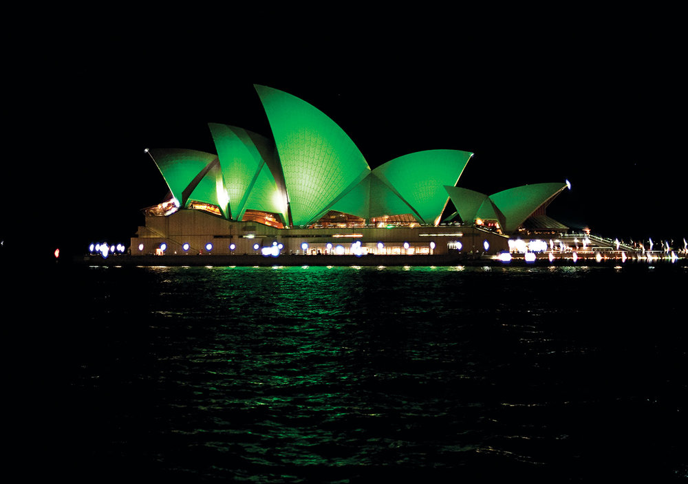 Sydney Opera House will be illuminated green for St Patrick's Day this year.