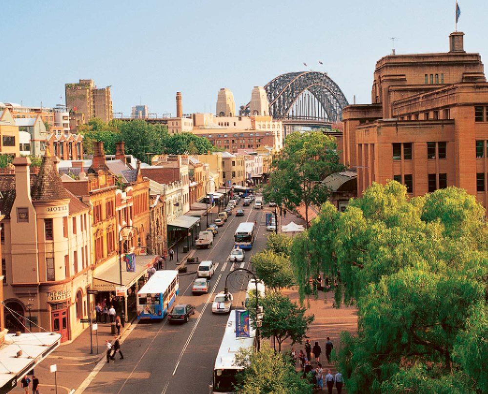 The Rocks area of Sydney will host Sydney's official St Patrick's Day celebrations.
