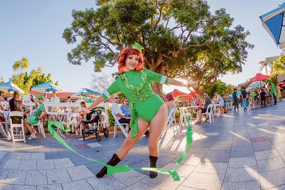 Paddyfest at Eagle Farm Racecourse is one of a range of St Patrick's Day events planned for Brisbane.