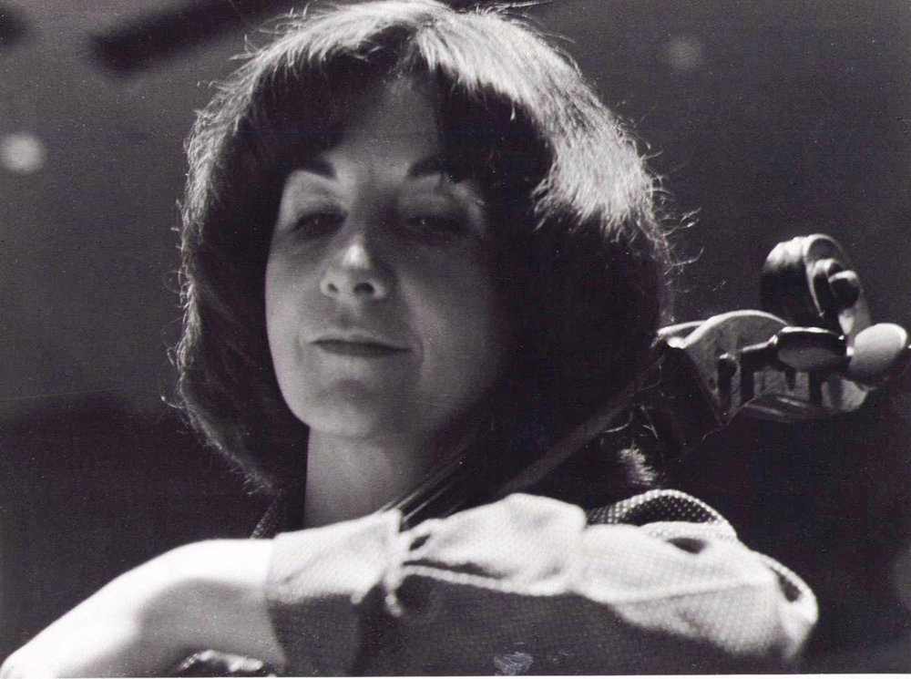 The late Maureen O'Carroll, who played cello with the Sydney Symphony Orchestra.