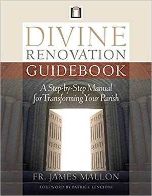 Divine Renovation Guidebook - From the bestselling author of Divine Renovation comes this essential guide for pastors seeking to build healthy parishes. Since the release of Fr. James Mallon's first book, Divine Renovation, pastors and parish leaders from across the globe have been seeking guidance for implementing the principles and foundations of his vision for parish renewal and mission.Now, for the first time, Mallon offers to us in his newest book, Divine Renovation Guidebook, an engaging and resourceful guide for building healthy and strong mission-oriented parishes. Divine Renovation Guidebook is a must-have resource for pastors and parish ministry teams everywhere.This book is available in: English and French
