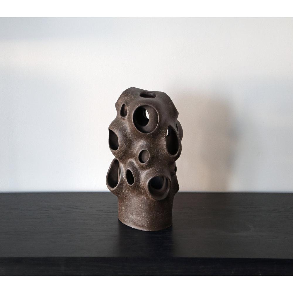 Dark Brown Layered Form