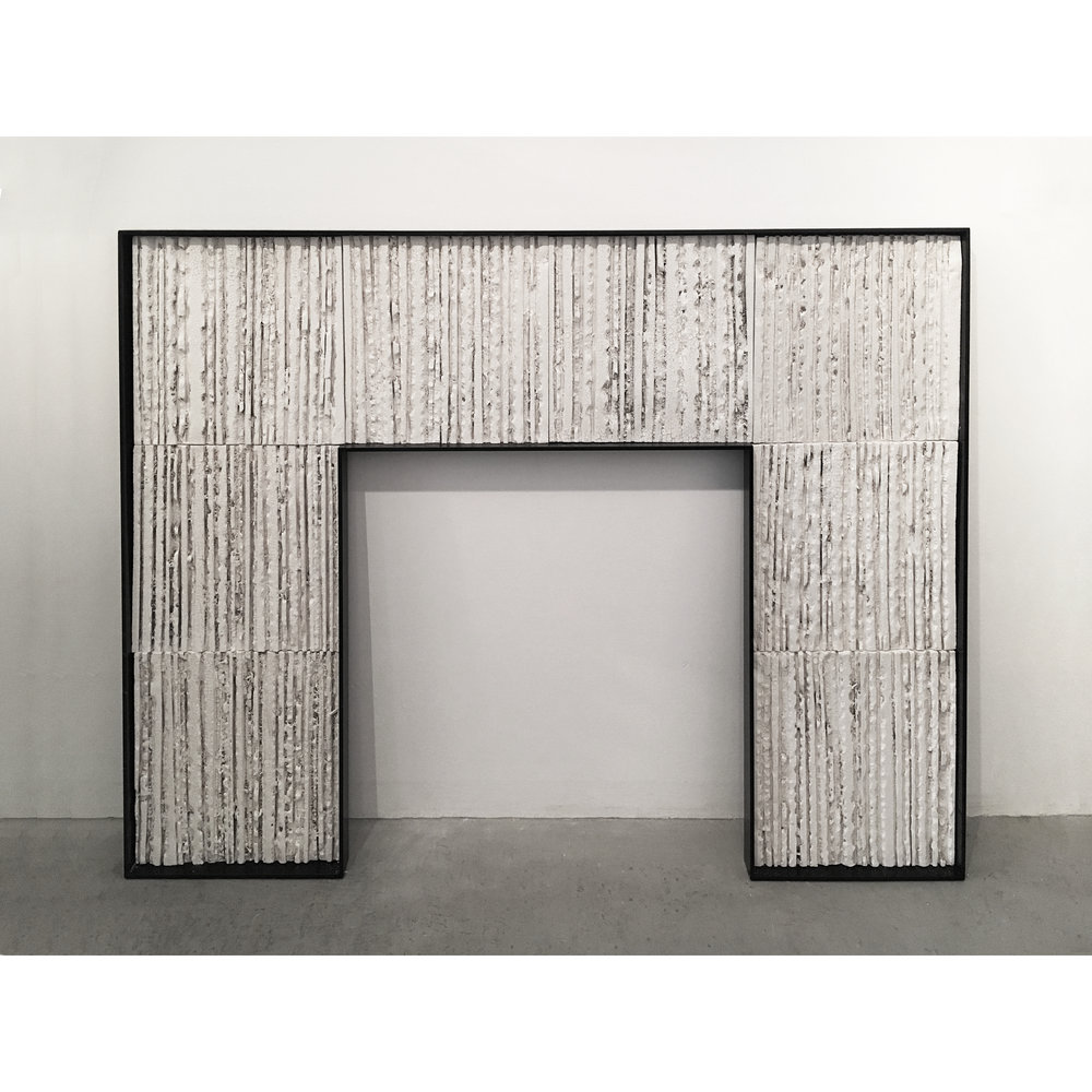 Quarry Relief Fireplace Surround