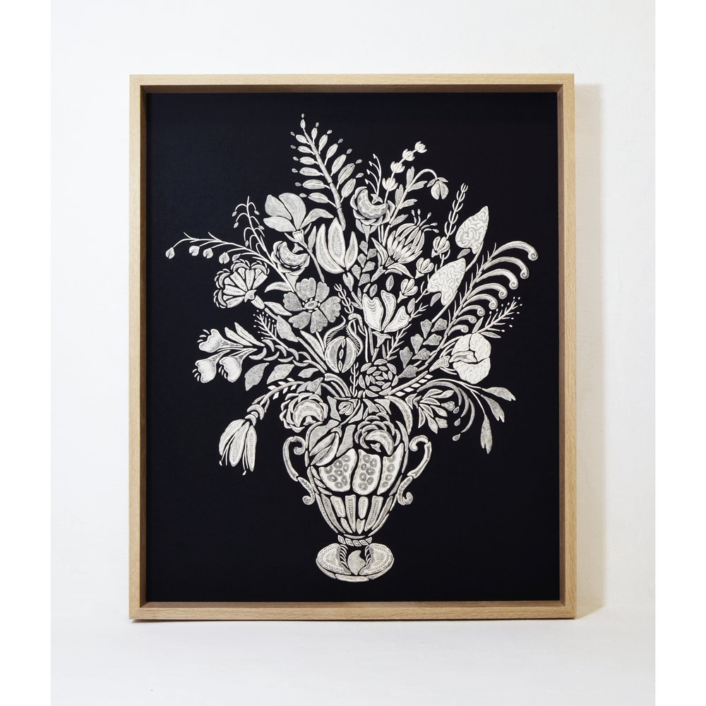 Mosaic Portrait - Bouquet