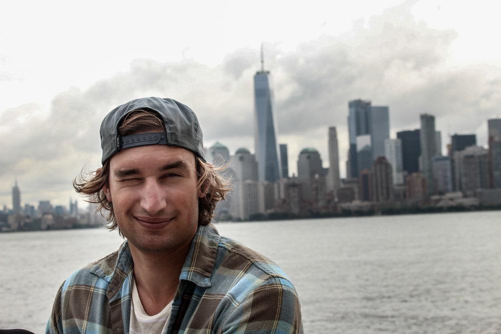 A man in NY
