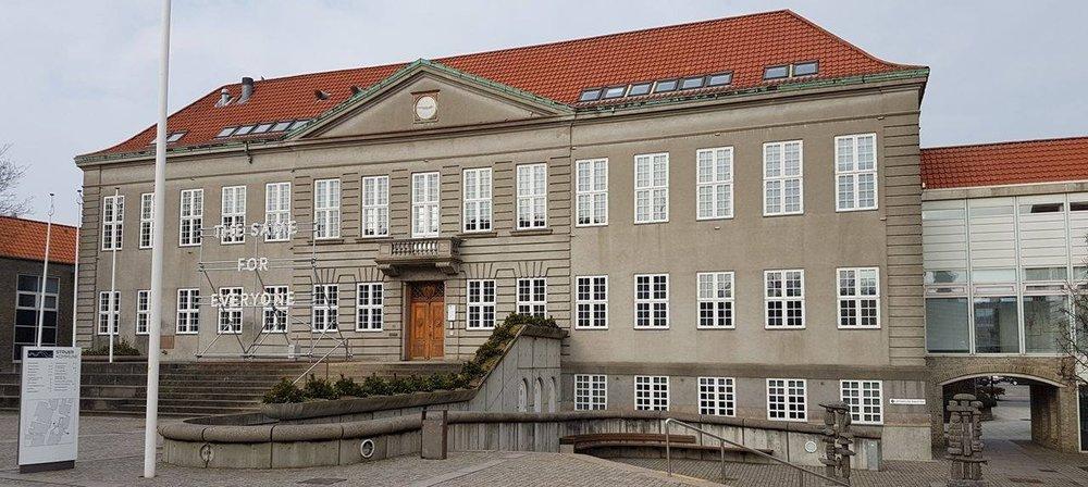 STRUER RÅDHUS · Denmark.