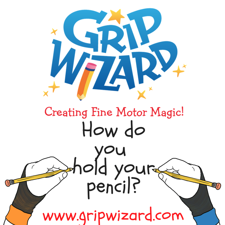 GRIP WIZARD - Grip Wizard was invented by Elizabeth Connolly's son Matthew when he was 9, to help him improve his own handwriting while in Occupational Therapy. Matthew participated in two invention competitions and won the 2013 Grow Your Own Business Challenge, sponsored by Warren Buffett. Matthew has since developed other interests, but knowing there was an empty space for this type of product in the education and therapy aid worlds, Elizabeth decided to fully develop and market Grip Wizard, so that other students who were struggling would have another tool in their box.