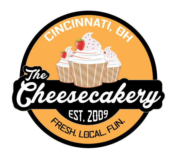 THE CHEESECAKERY - The Cheesecakery is a licensed-home bakery located 15 minutes from Downtown Cincinnati. They handcraft over 75 and counting flavors of cheesecake, that are whimsically named after places you know and love in Cincinnati. They always offer fun sizes, such a cheesecake cupcakes and cheesecake pops. And they offer mini sized too!