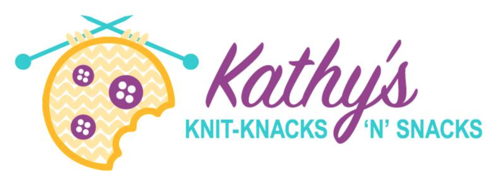 KATHY'S KNIT-KNACKS 'N' SNACKS - A mother & daughter team offering handmade knit goods and delicious sweet treats made weekly!