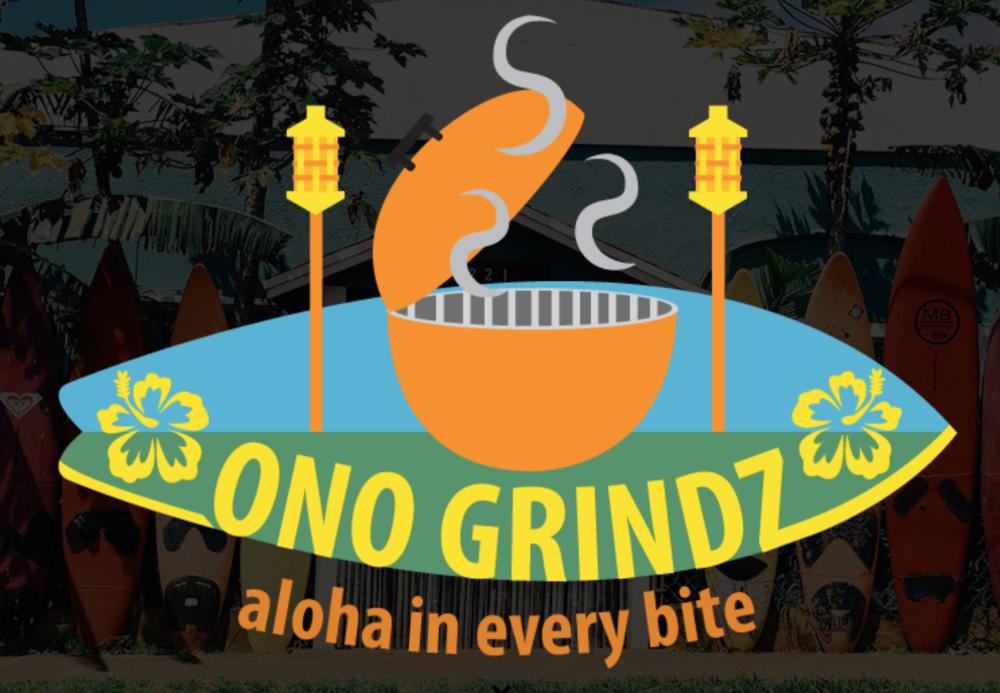 ONO GRINDZ - In Hawaiian,