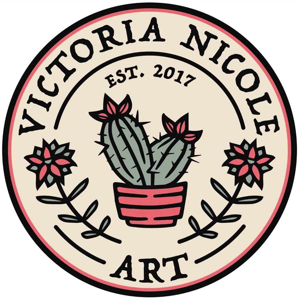 VICTORIA NICOLE ART - Clay and Crochet artist based in Cincinnati, OH.  Wheel thrown and Slip casted ceramic pieces with handmade glazes.