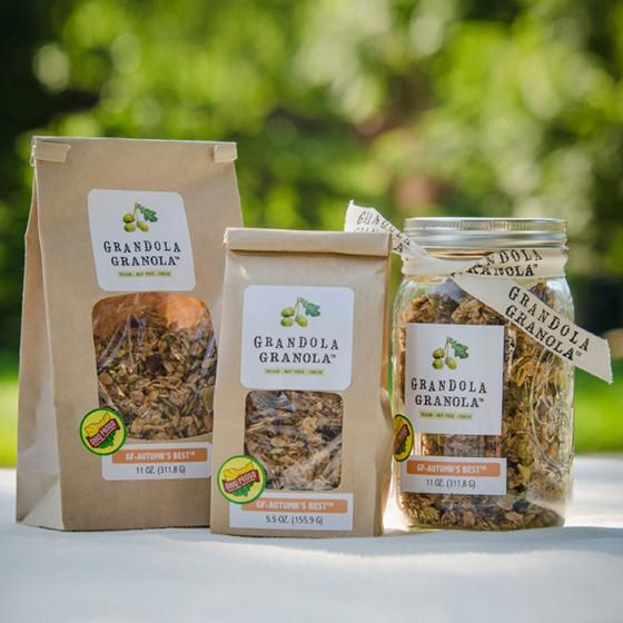 GRANDOLA GRANOLA - In 2012, I began making granola for my daughter, Ella, when she started eating