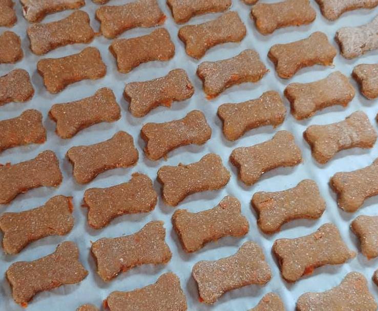 Homemade Dog treats - One Girl 2 Pitties Barkery