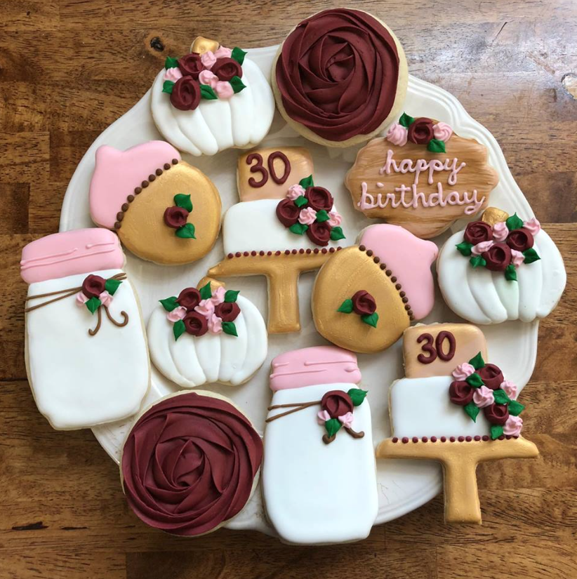 custom cookies - KeckiROW Design